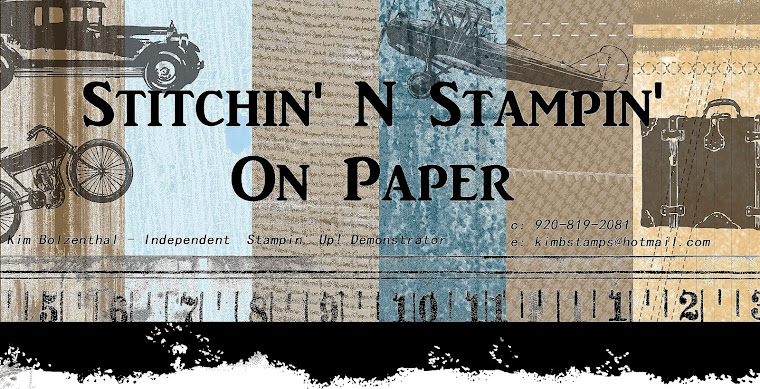 Stitchin' n Stampin' on Paper