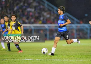 Video dan Gambar Harimau Selatan Belasah Tampines Rovers 7 1 Friendly Games