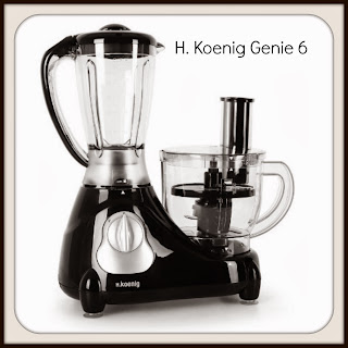 H.Koenig Genie 6 food processor and blender, Hifi Tower, competition, www.emmysmummy.com