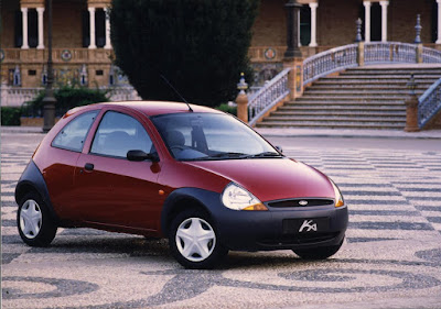 Ford Ka, a bargain Euro city car