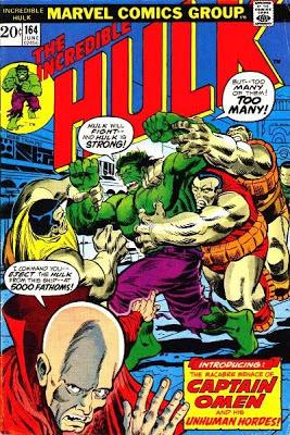 Incredible Hulk #164, Captain Omen