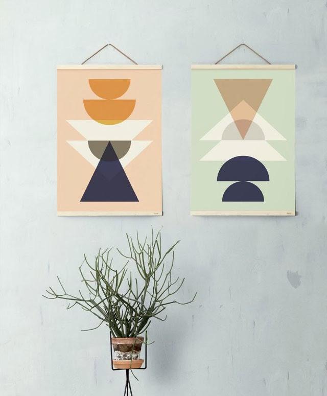 Blog maison - décorer un mur