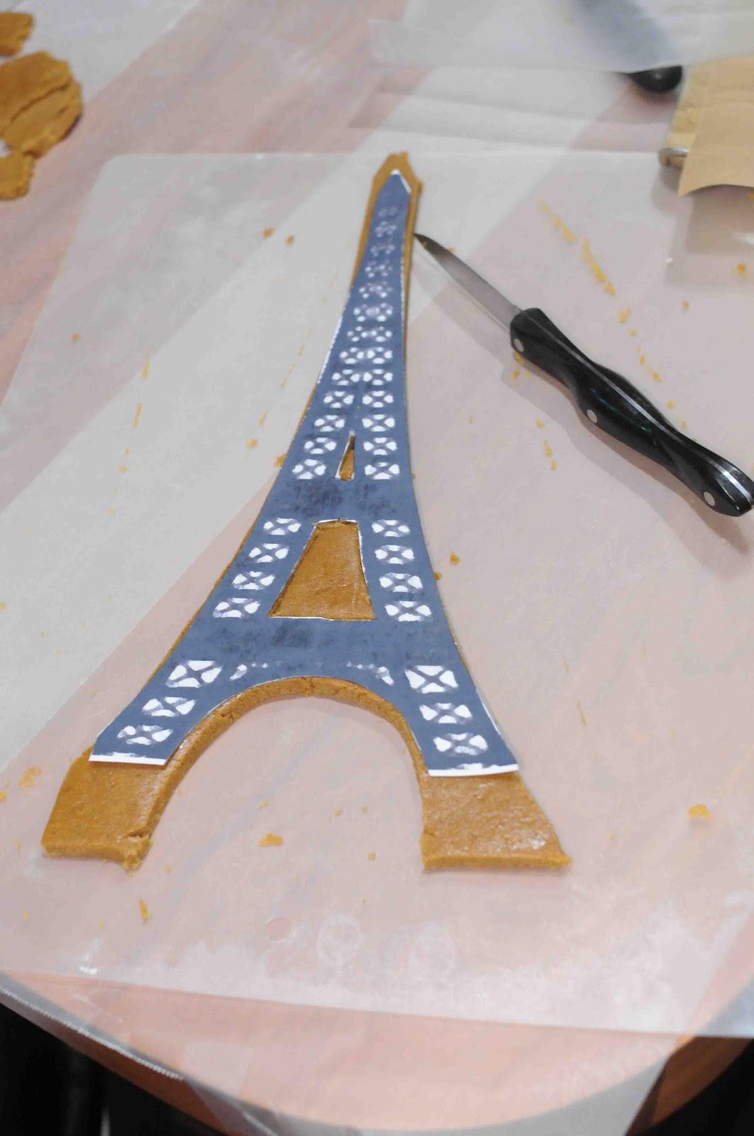 gonna stuff a chicken project gingerbread eiffel tower