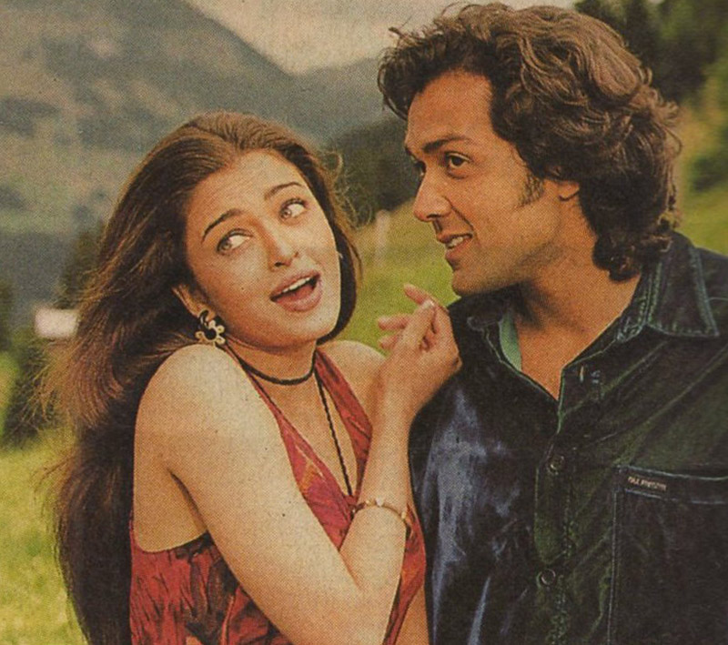 Aishwarya Rai 1997 Aishwarya Rai And Bobby Deol