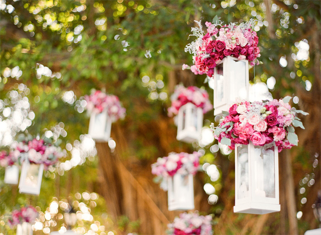 Wedding Flowers For Decorations : Hanging wedding decorations part belle the magazine