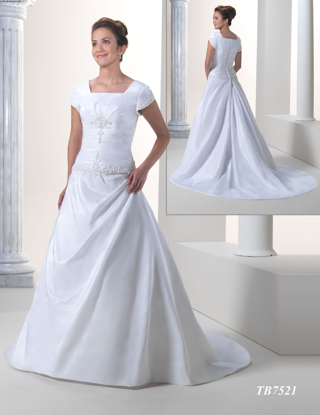 Modest wedding dresses cheap cocktail dresses 2016 modest wedding dresses cheap ombrellifo Images