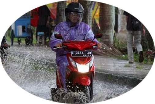 motor tahan banjir