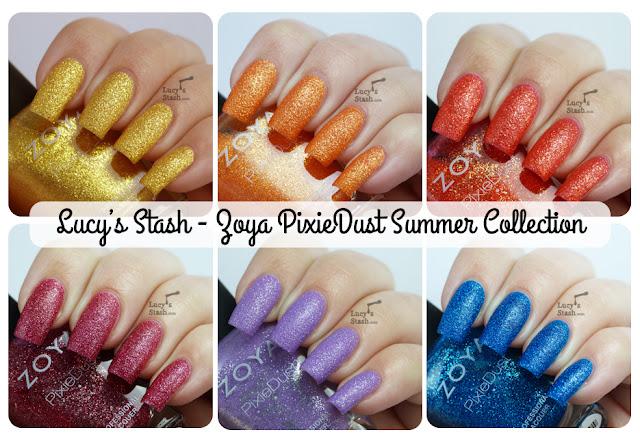 Luucy's Stash - Zoya PixieDust Summer Collection