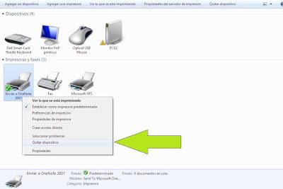uninstall printer windows 8