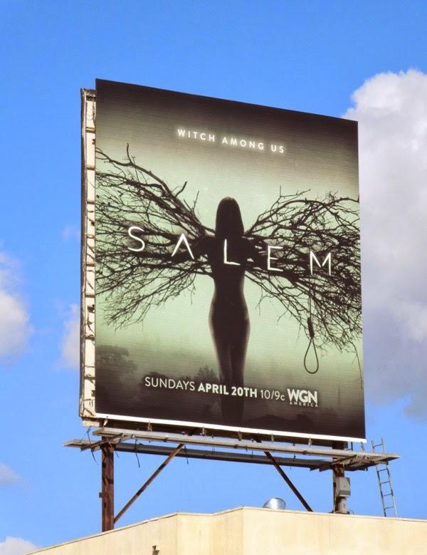 Salem series launch billboard