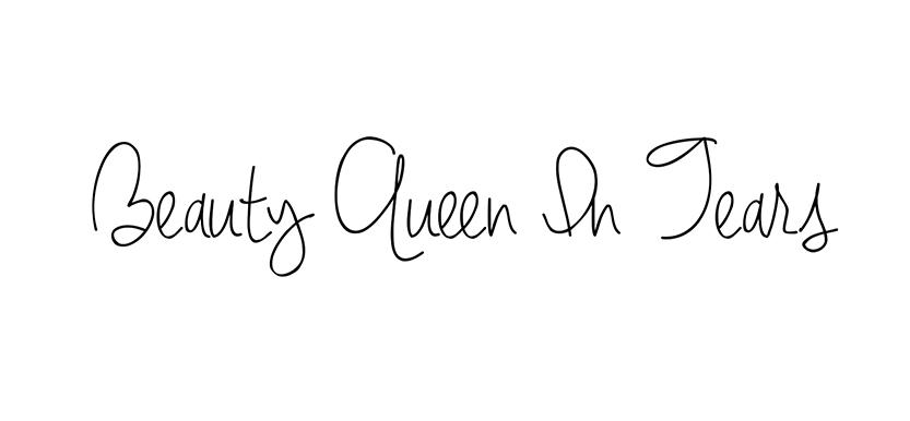 beauty queen in tears