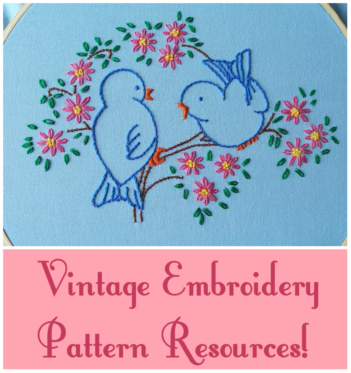 Eglantine stitchery vintage embroidery pattern resources vintage embroidery pattern resources bankloansurffo Gallery