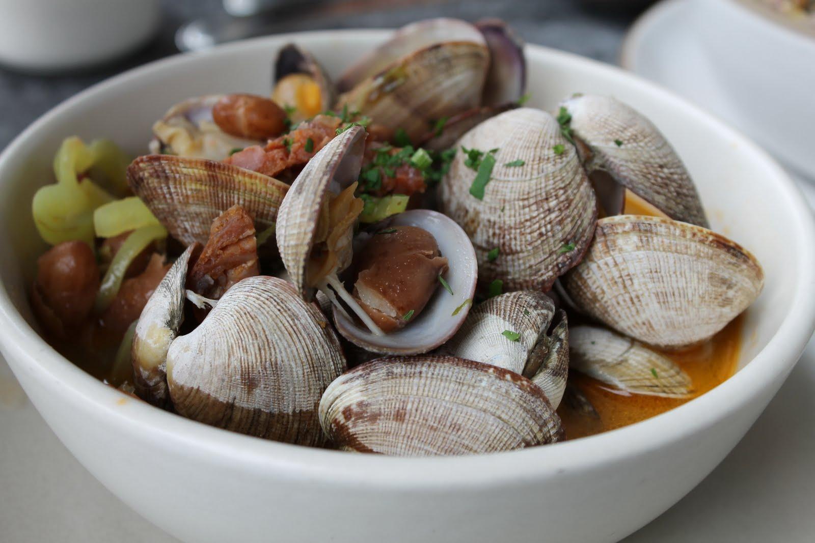 Corn, Bacon, And Clam Stew Recipe — Dishmaps