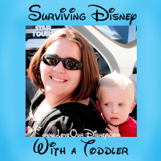 Surviving Disney with a Toddler