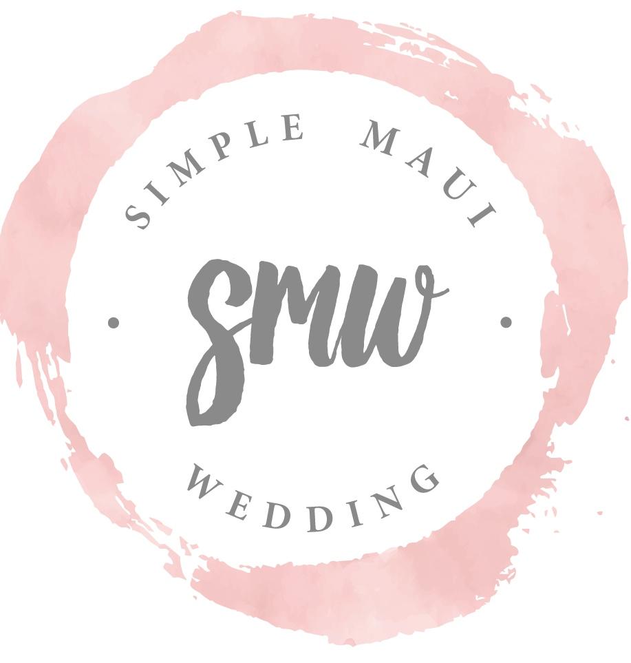 Simple Maui Wedding Home