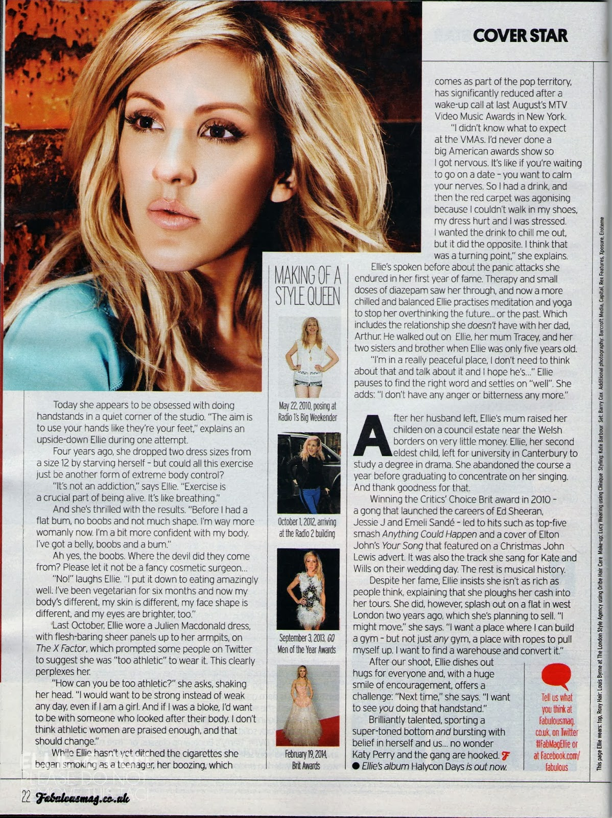 UK Fabulous Magazine October 2017 Niall Horan One Direction Flicker Interview