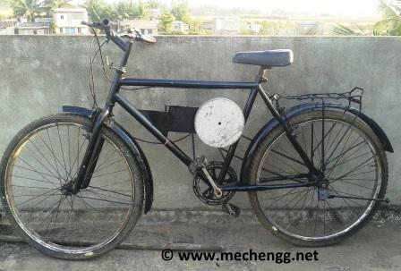 Kinetic Energy Recovery System in Bicycle (KERS Bicycle) | Mechanical Project