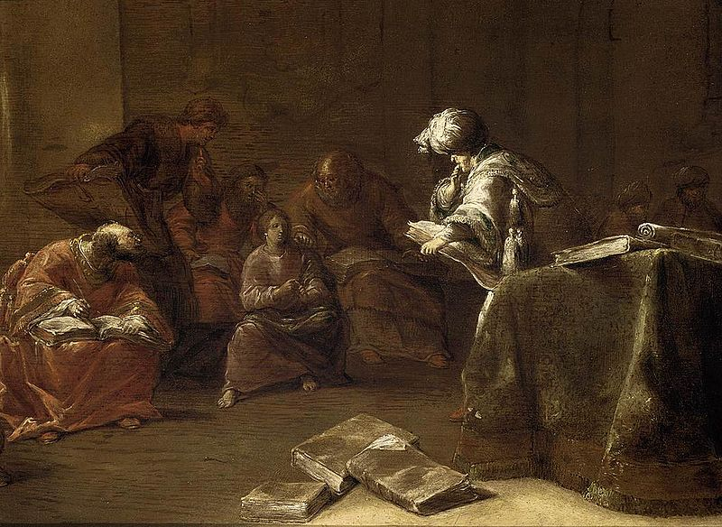 Braemer, a Dutch 'Christ Among the Doctors (lawyers)' of c. 1600