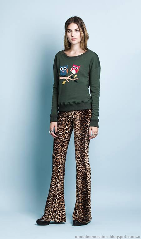 Pantalones oxford e moda invierno 2015 Sans Doute.