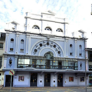 Venue for Libera concert in Jersey.