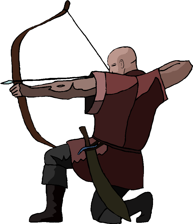 Archer Free Clipart