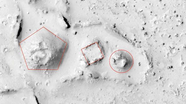 Y a-t-il une ancienne civilisation sur Mars ? Les chasseurs d'OVNI prétendent avoir trouvé ...