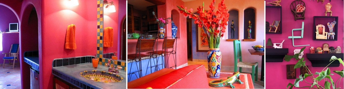 Decoracion estilo mexicano decoracion casas ideas for Pinturas rusticas para interior