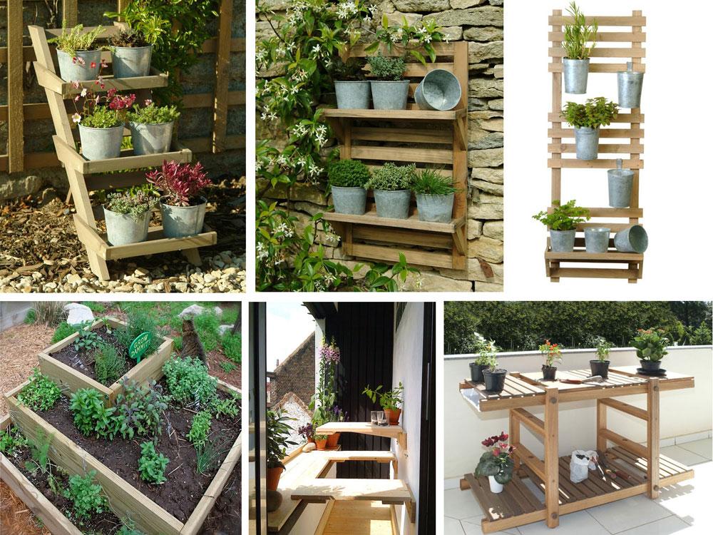 ideias para jardim simples:LUCIANA GIULIANI PAISAGISMO: Decoração com plantas em escadas