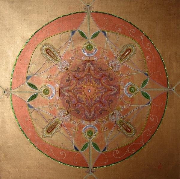 Алена Ратушняк, арт-психолог и арт-йог; Мандал - картина для медитации