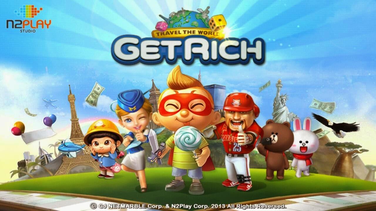 Line Let's Get Rich game terlaris 2015, Game android let's get rich terlaris,