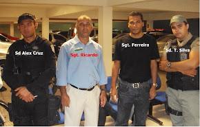 Sgt. Ricardo na Corregedoria na defesa dos PMs do 6º BPM foto 02