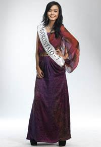 MISS INDONESIA 2011 CONTESTANT - Alyssa Anjani Akilie