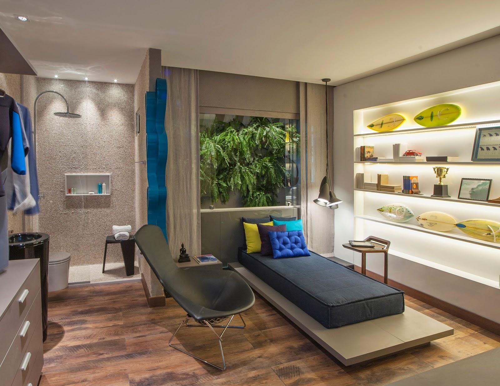 Trend: Samambaia na Decoração de Interiores! Decor Salteado Blog  #A0842B 1600x1234 Banheiro Com Banheira Verde
