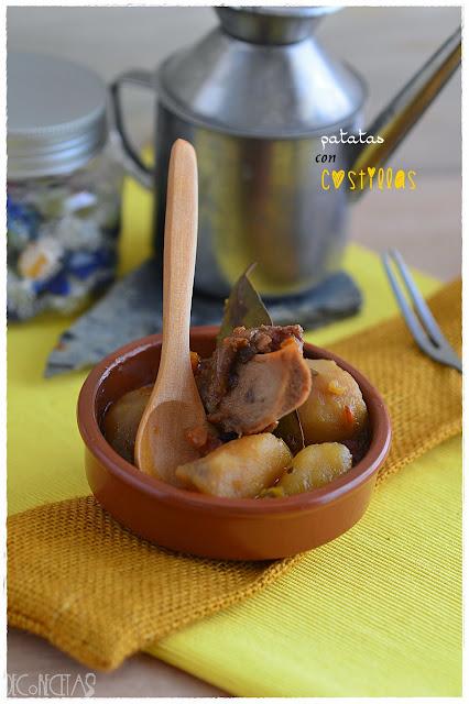 patatas con costillas