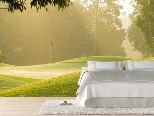 Le pareti come un 39 opera d 39 arte be soft on your sofa for Carta da parati moderna 3d