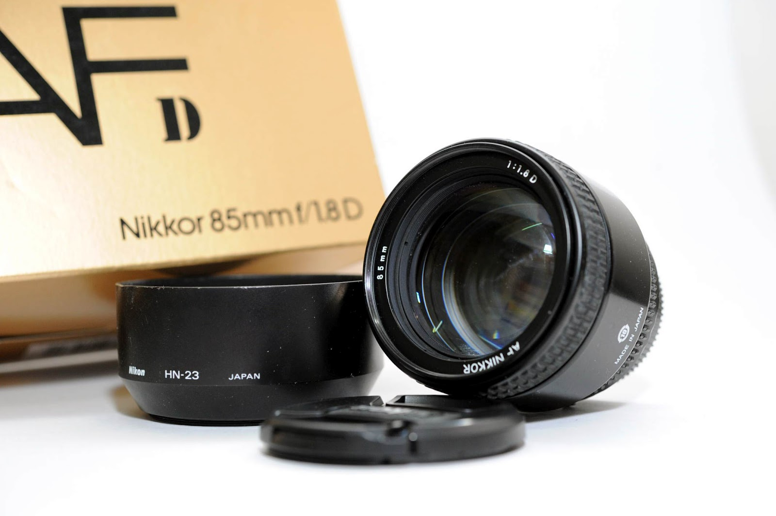 Nikon 85mm F 18d With Hood Rm1150 Private Stock 88 Af F18d