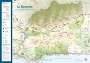 Mapa de la Alpujarra