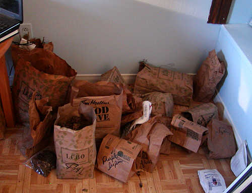 Drying Marijuana In Paper Bag http://providence-acres.blogspot.com/2011/12/reduce-reuse-recycle.html