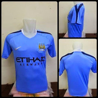 gambar photo kamera Jersey Manchester city home terbaru musim 2015/2016