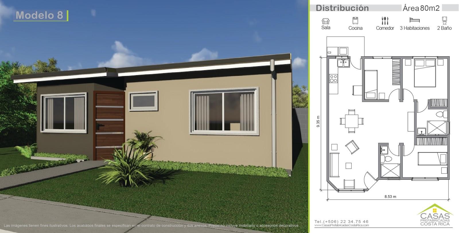 Casas prefabricadas costa rica 2015 for Diseno casas prefabricadas costa rica