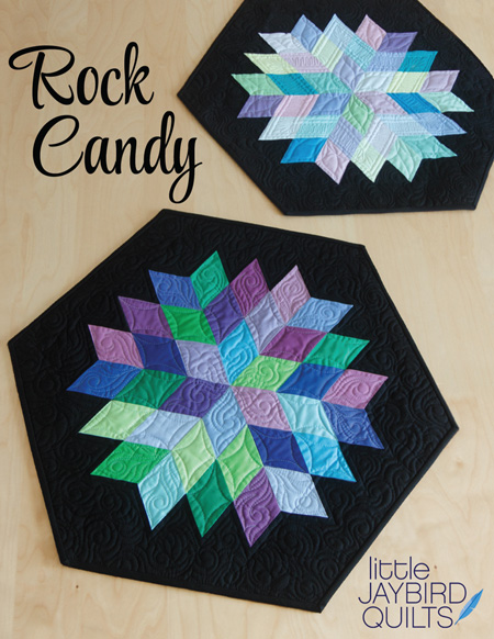 rock candy table topper jaybird quilts. Black Bedroom Furniture Sets. Home Design Ideas