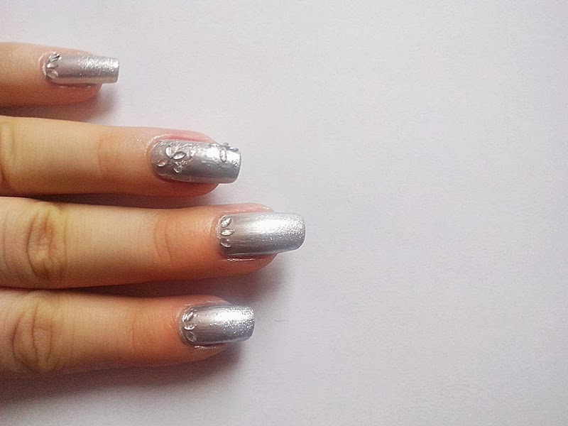 31DC2014 Day 8: METALLIC Nails