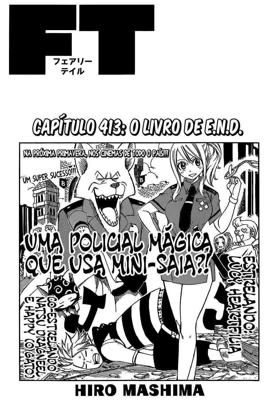 Fairy Tail 413 Mangá – Português