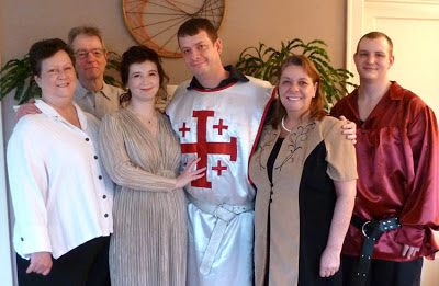 Morgan & Chris with parents and friend - Photo by Patricia Stimac, Seattle Wedding Officiant