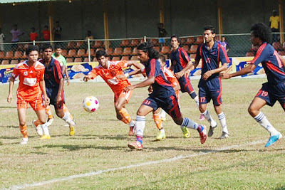 Brain Weerappuli playing for Don Bosco against Java Lane