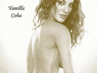 Yamilla Coba Nude Wallpaper