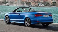Audi A3 Cabriolet blue
