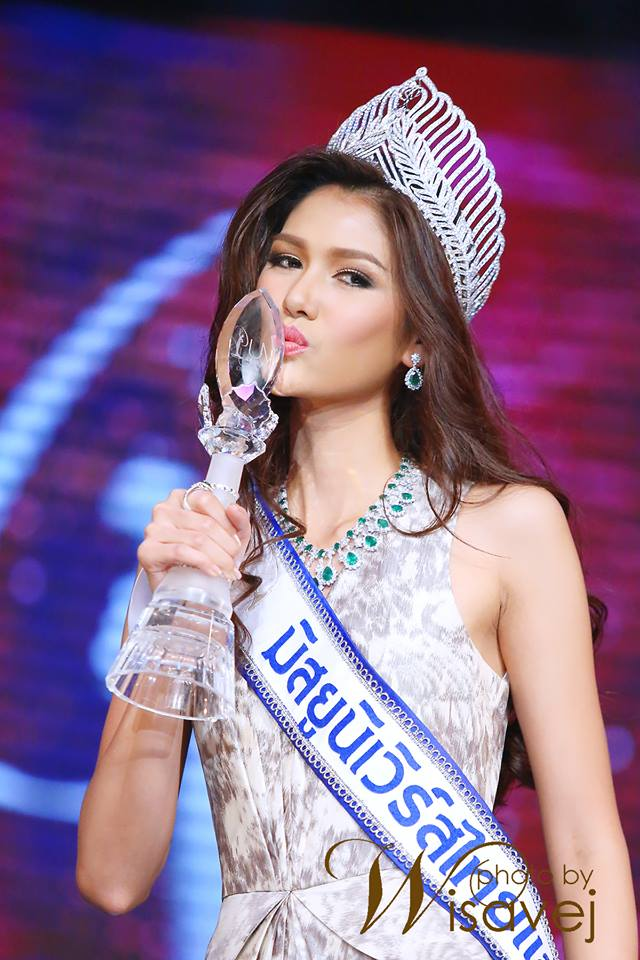 1st Miss Universe >> Aniporn Chalermburanawong is Miss Thailand Universe 2015   Beauty Contests BLOG