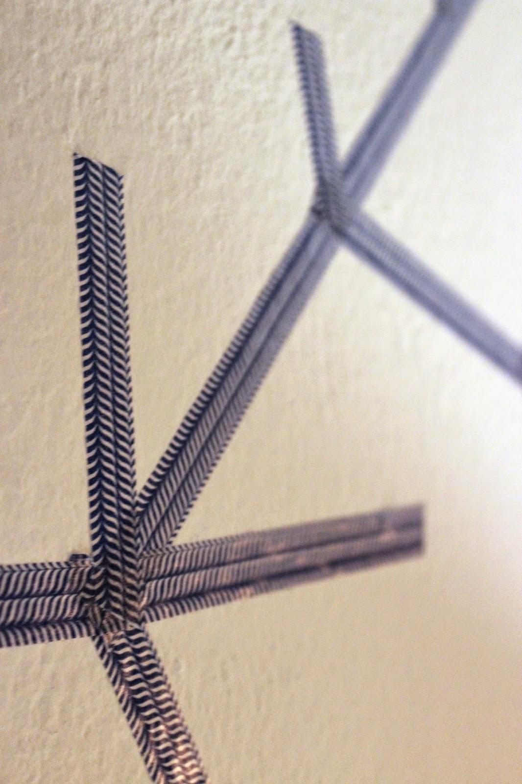 bauchgef hle blogmas 2014 day 9 masking tape deko hirsch. Black Bedroom Furniture Sets. Home Design Ideas