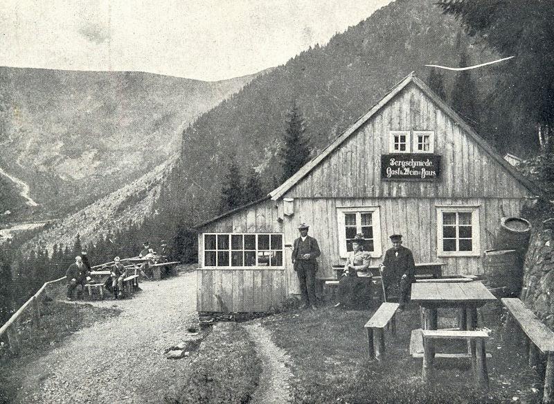 Bouda Kovárna v Obřím dole